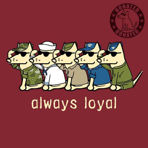 Always Loyal - Ladies T-Shirt V-Neck