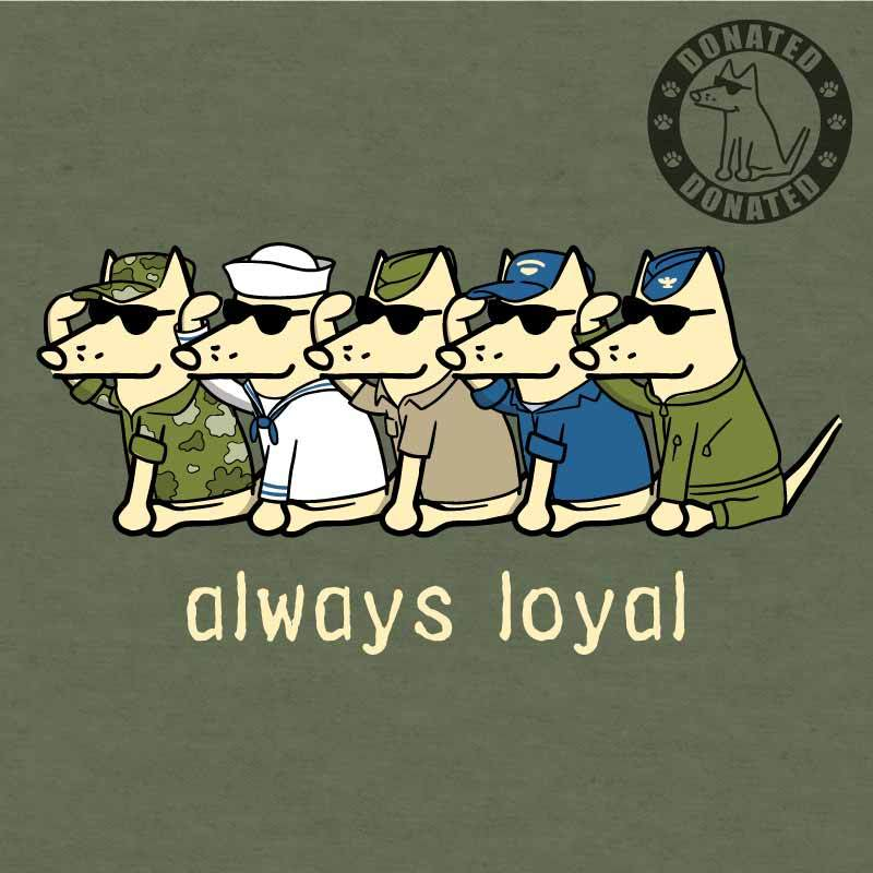 Always Loyal Lightweight Tee