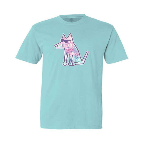 Flower Patch Teddy - Youth Short Sleeve T-Shirt - Teddy the Dog T-Shirts and Gifts