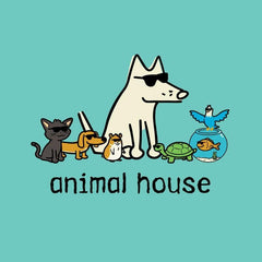 Animal House - Ladies T-Shirt V-Neck