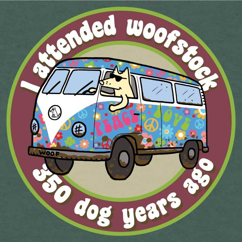 I Attended Woofstock  - Lightweight Tee