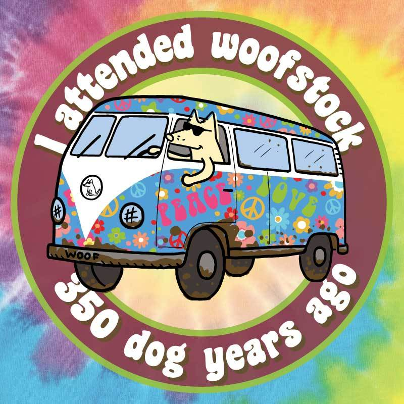 I Attended Woofstock - Ladies Tank Top