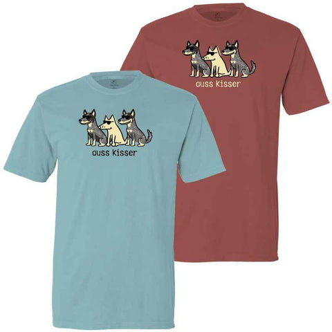 Auss Kisser - Classic Tee - Teddy the Dog T-Shirts and Gifts