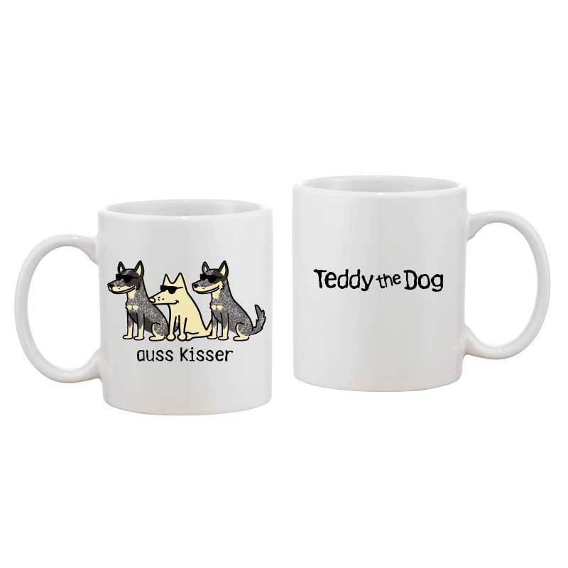 Auss Kisser - Coffee Mug - Teddy the Dog T-Shirts and Gifts
