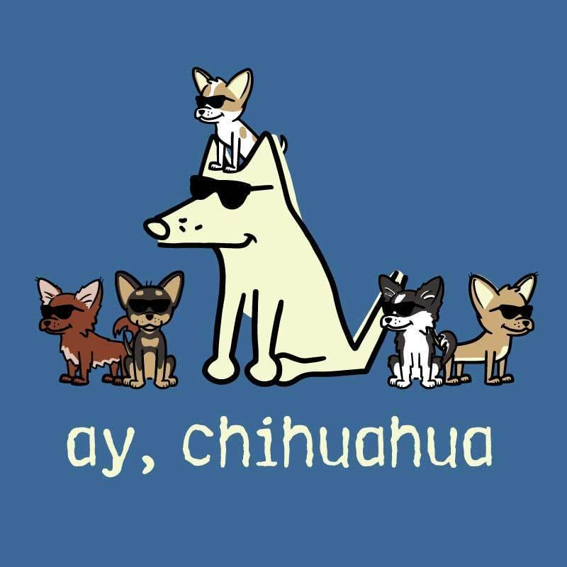 Ay, Chihuahua - Classic Long-Sleeve T-Shirt Classic - Teddy the Dog T-Shirts and Gifts