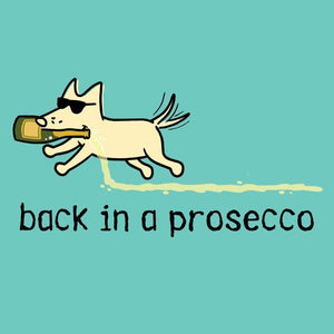 Back In A Prosecco  - Ladies T-Shirt V-Neck