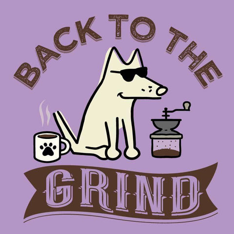 Back To The Grind -T-Shirt Ladies V-Neck