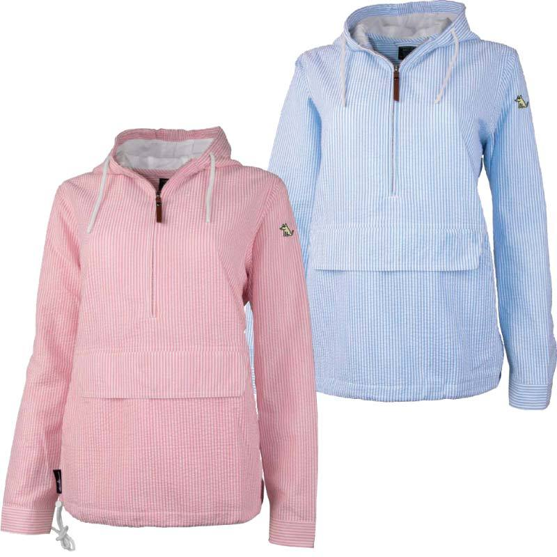 Bark Harbor - Ladies Seersucker Anorak