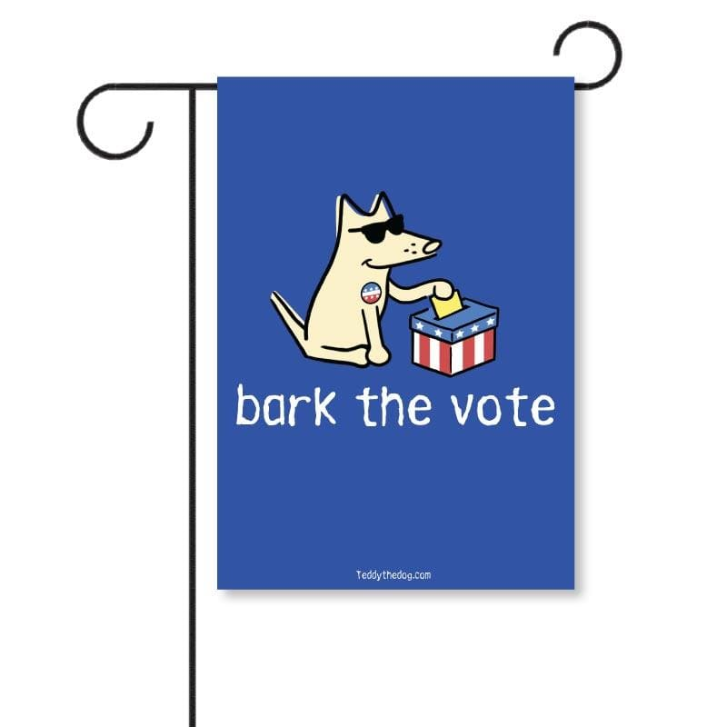 Bark The Vote - Garden Flag