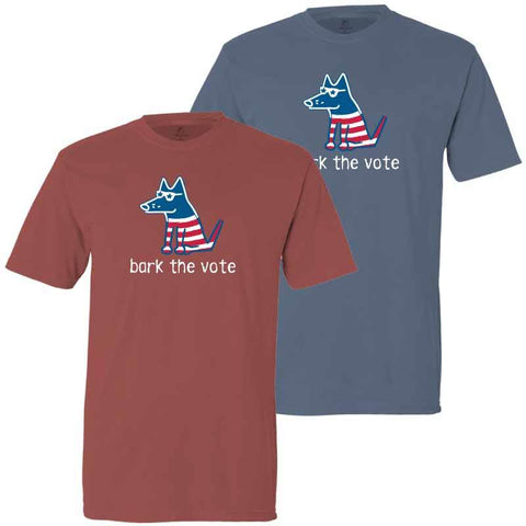 Bark The Vote - Classic Tee - Teddy the Dog T-Shirts and Gifts