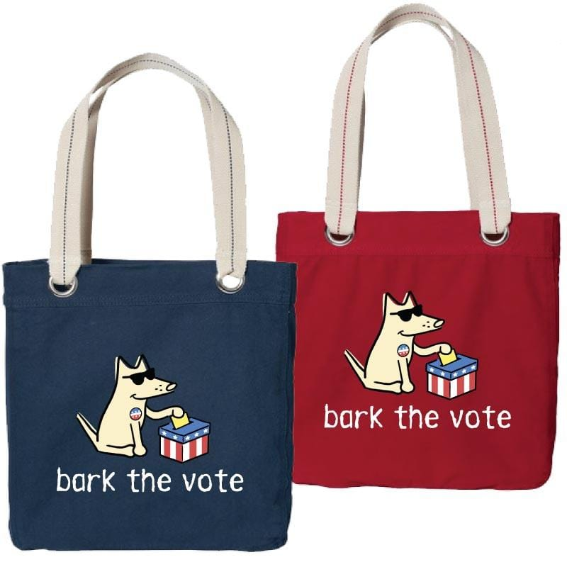 Bark The Vote - Canvas Tote