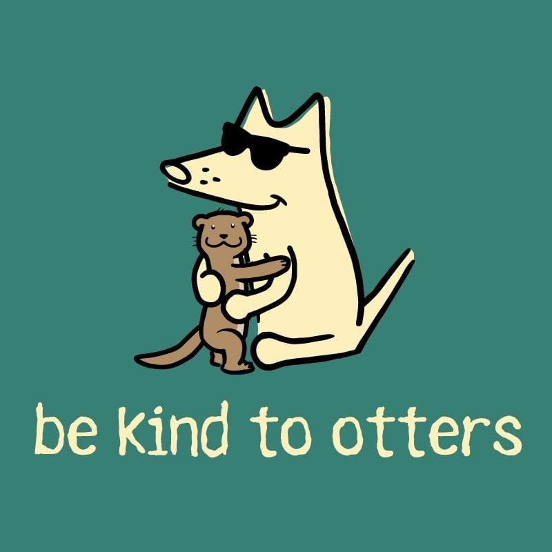 Be Kind To Otters - Ladies T-Shirt 3-4 Sleeve