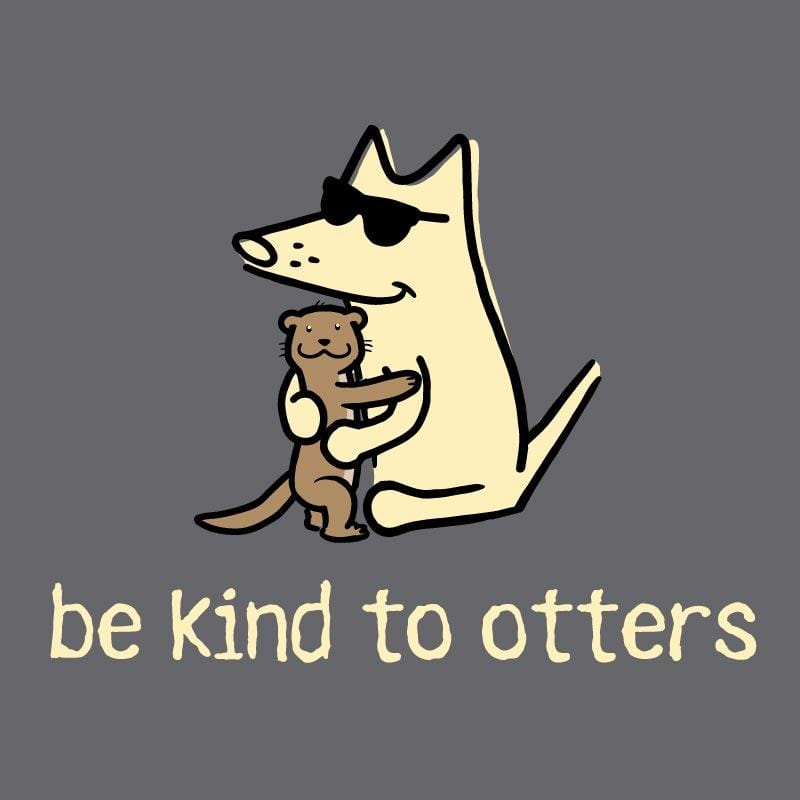 Be Kind To Otters - Sweatshirt Pullover Hoodie