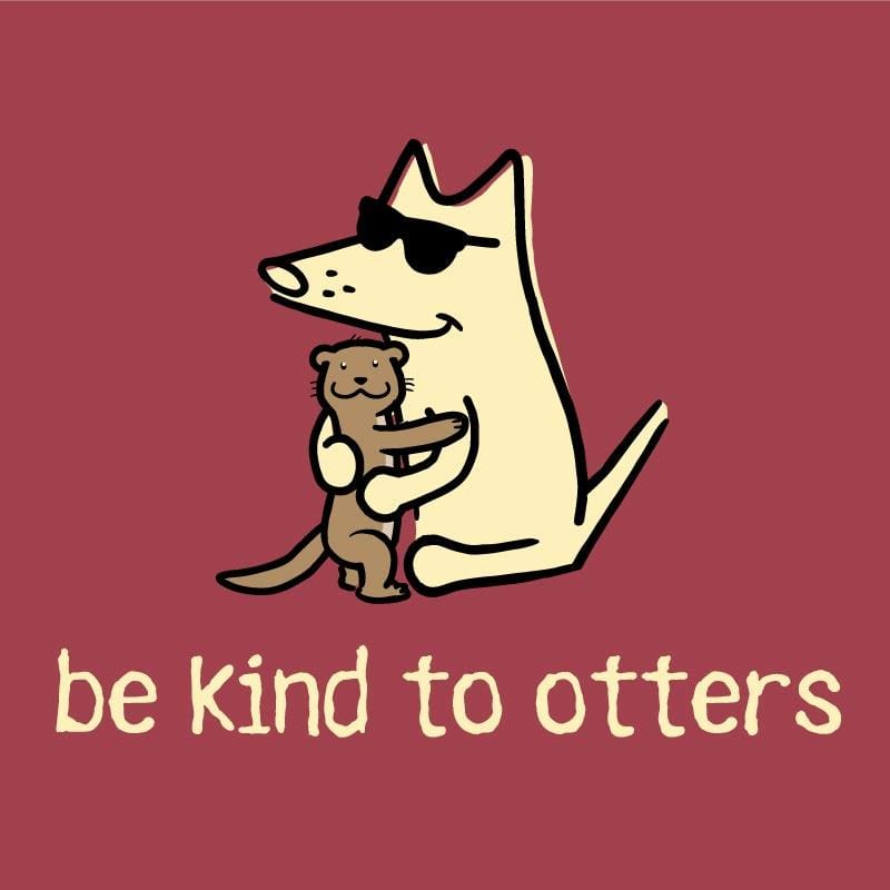 Be Kind To Otters - Classic Long-Sleeve T-Shirt Classic