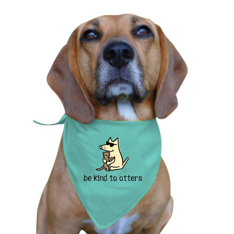 Be Kind To Otters - Doggie Bandana