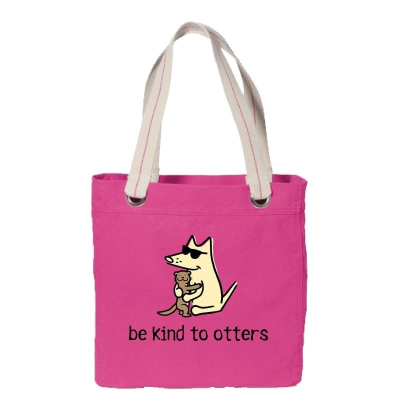 Be Kind To Otters - Canvas Tote