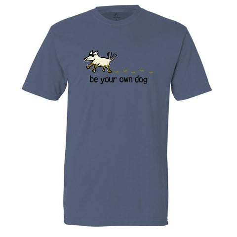 be your own dog garment dyed classic t-shirt