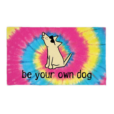 Be Your Own Dog - Beach Towel