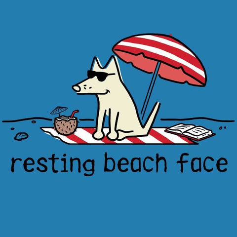 Resting Beach Face - Classic Tee