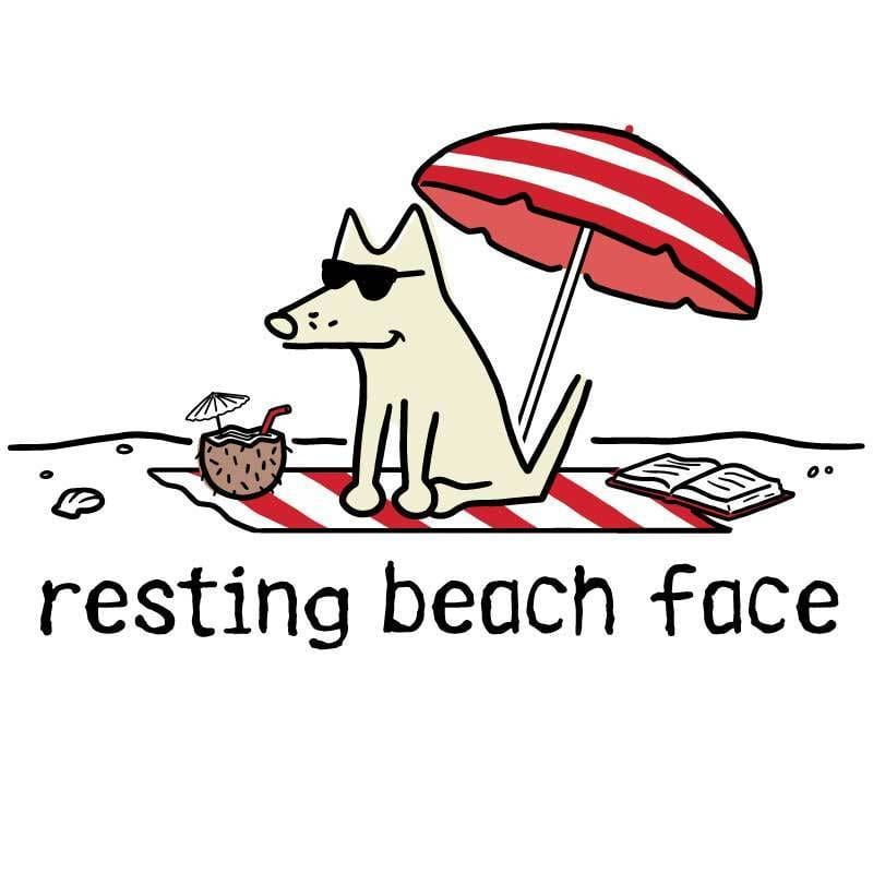 Resting Beach Face - Coffee Mug
