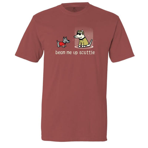 Beam Me Up Scottie - Classic Tee - Teddy the Dog T-Shirts and Gifts
