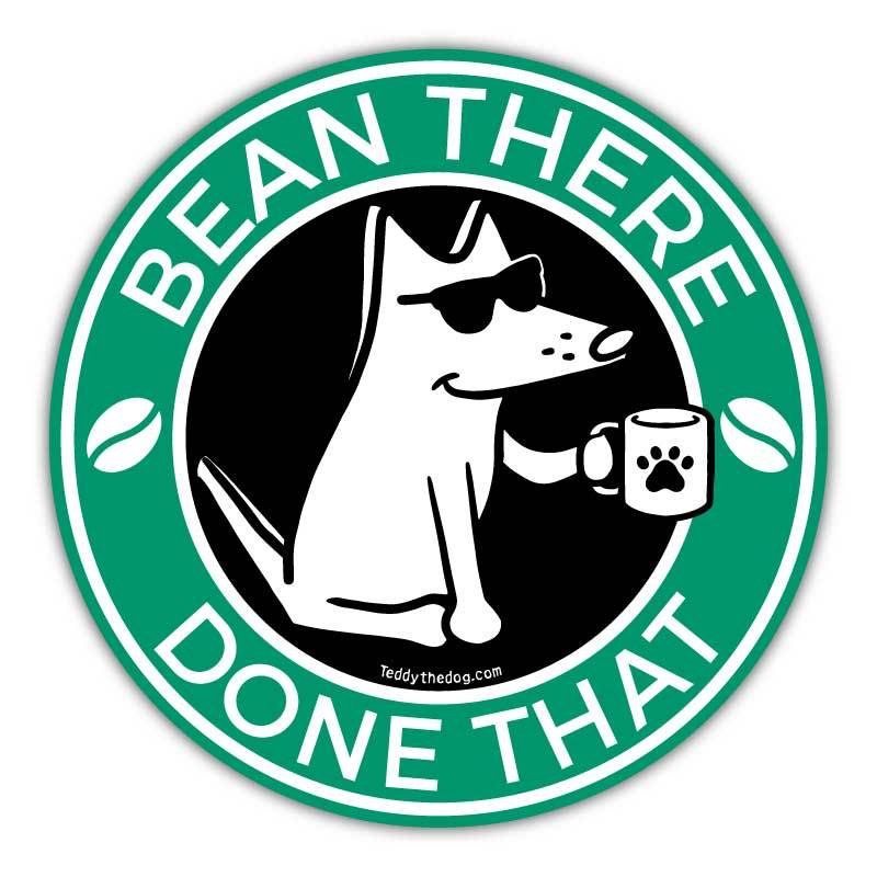Bean There, Done That - Car Magnet