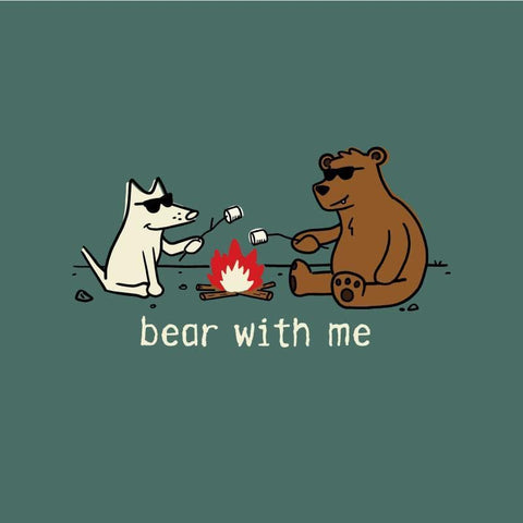Bear with Me - Classic Tee - Teddy the Dog T-Shirts and Gifts
