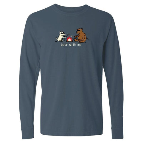 Bear with Me - Long-Sleeve T-Shirt Classic - Teddy the Dog T-Shirts and Gifts