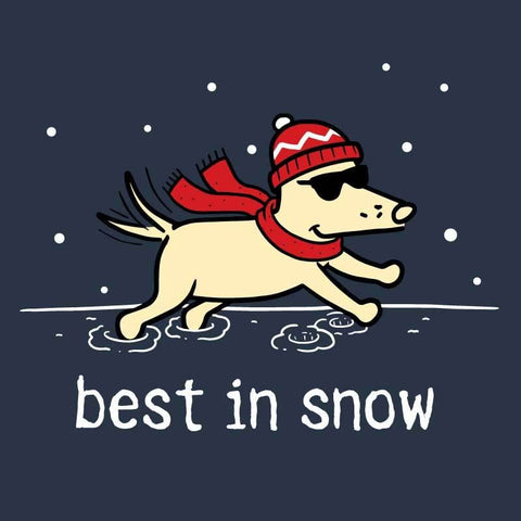 Best In Snow - Ladies T-Shirt 3-4 Sleeve