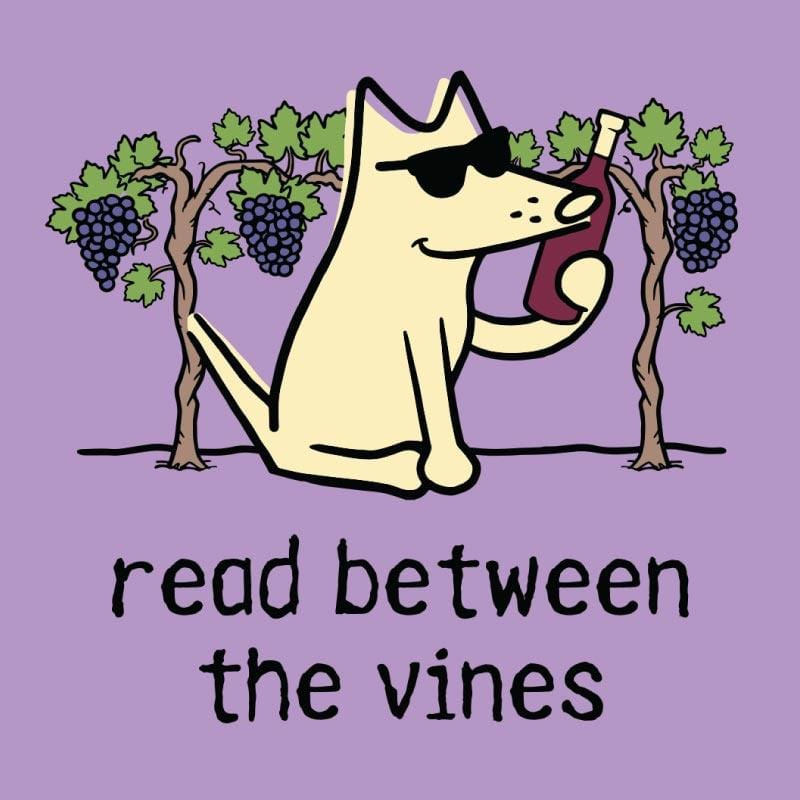 Read Between The Vines - Ladies T-Shirt V-Neck
