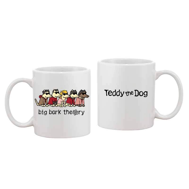 Big Bark Theory - Coffee Mug - Teddy the Dog T-Shirts and Gifts