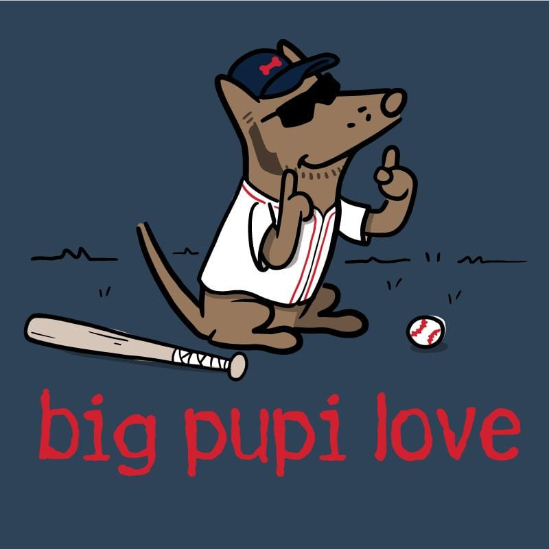 Big Pupi Love  - Ladies T-Shirt V-Neck