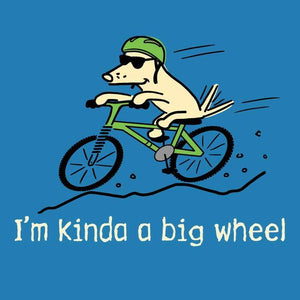 I'm Kinda A Big Wheel - Youth Short Sleeve T-Shirt
