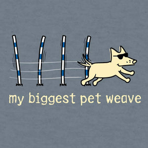 My Biggest Pet Weave - Lightweight Tee