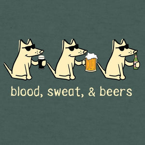 Blood, Sweat, & Beers - Lightweight Tee