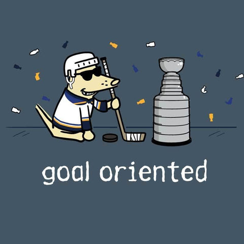 Goal Oriented - Blues Fans - Classic Tee