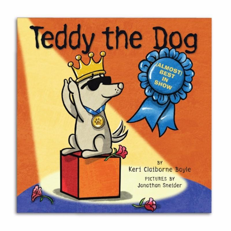 teddy the dog almost best in show pre order
