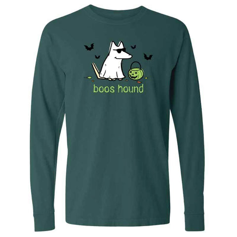 Boos Hound - Long-Sleeve T-Shirt Classic - Teddy the Dog T-Shirts and Gifts