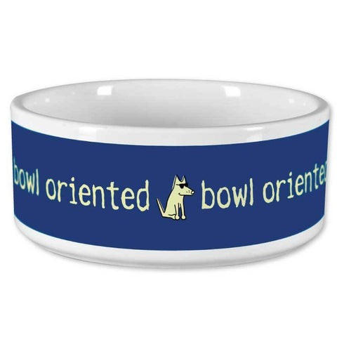 Dog Bowl - Bowl Oriented