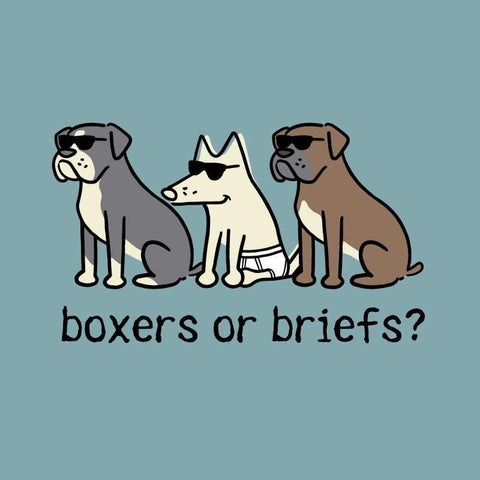 Boxers Or Briefs - Classic Tee - Teddy the Dog T-Shirts and Gifts