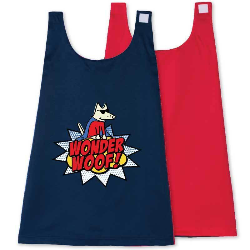 Wonder Woof - Boy Teddy - Toddler Cape