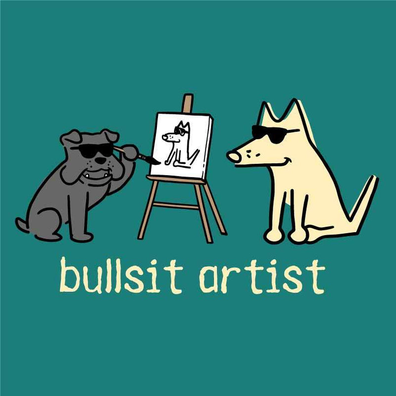 Bullsit Artist - T-Shirt Ladies V-Neck
