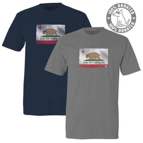 Paws For California - Classic Tee