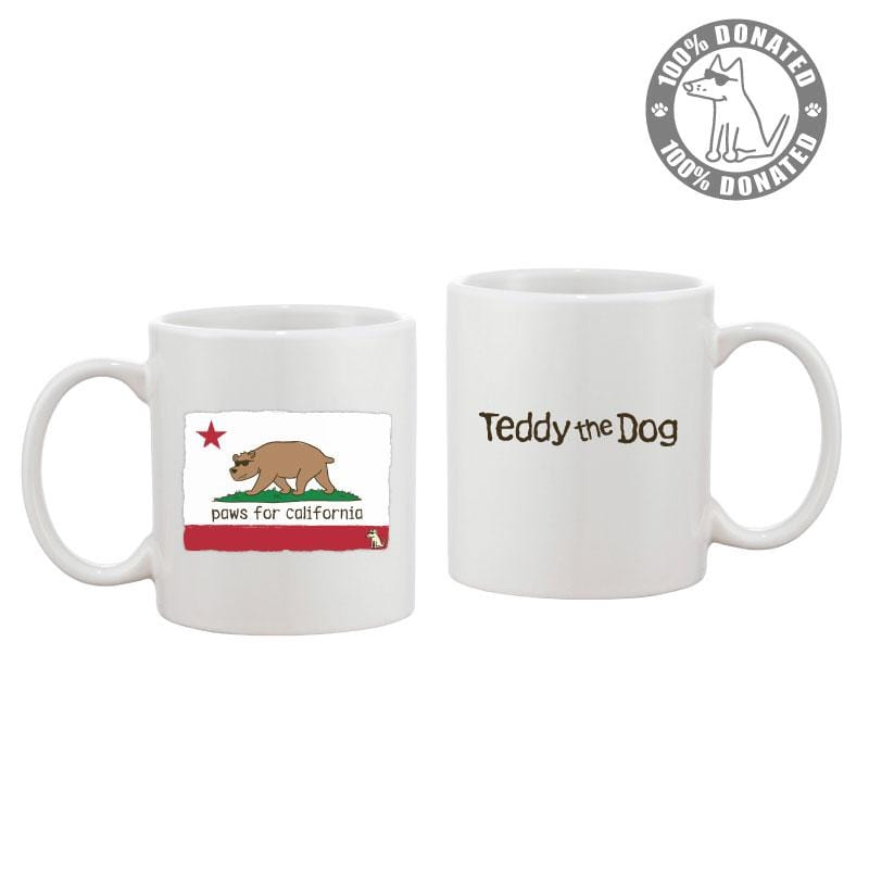 Paws for California - Coffee Mug