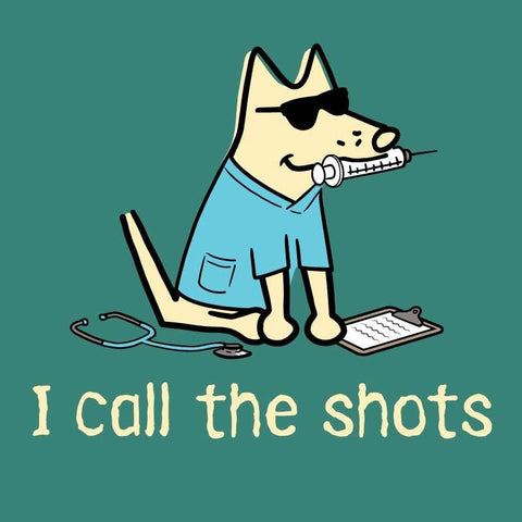 I Call The Shots - Ladies T-Shirt 3-4 Sleeve
