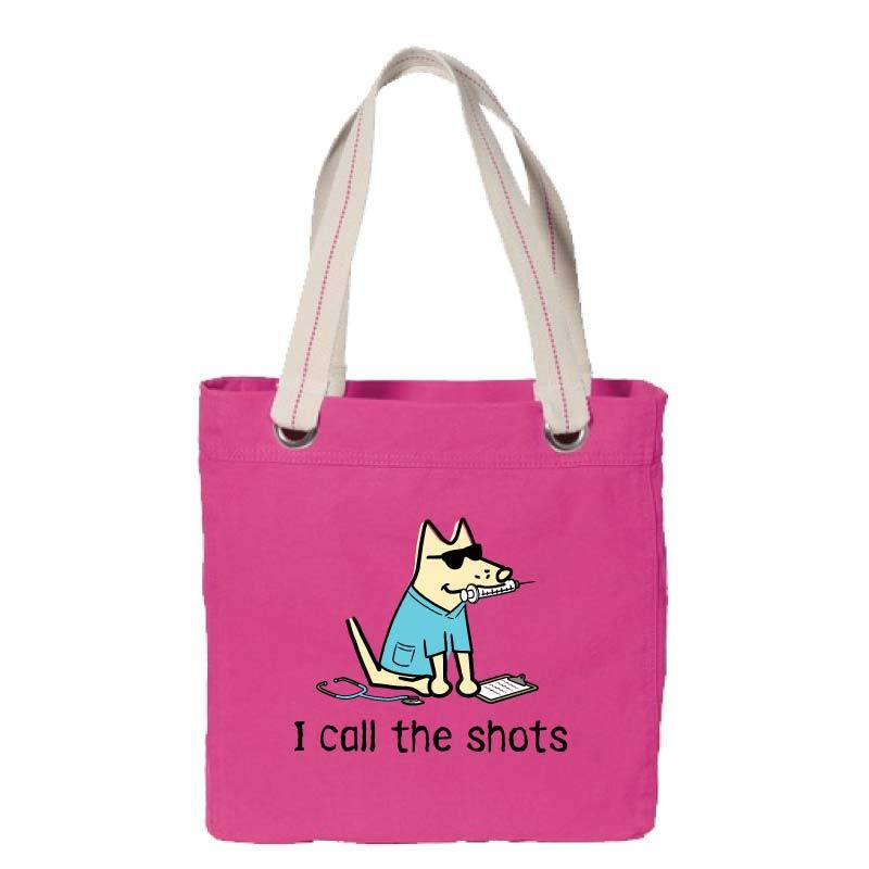 I Call The Shots - Canvas Tote