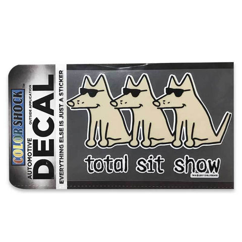 Total Sit Show Decal