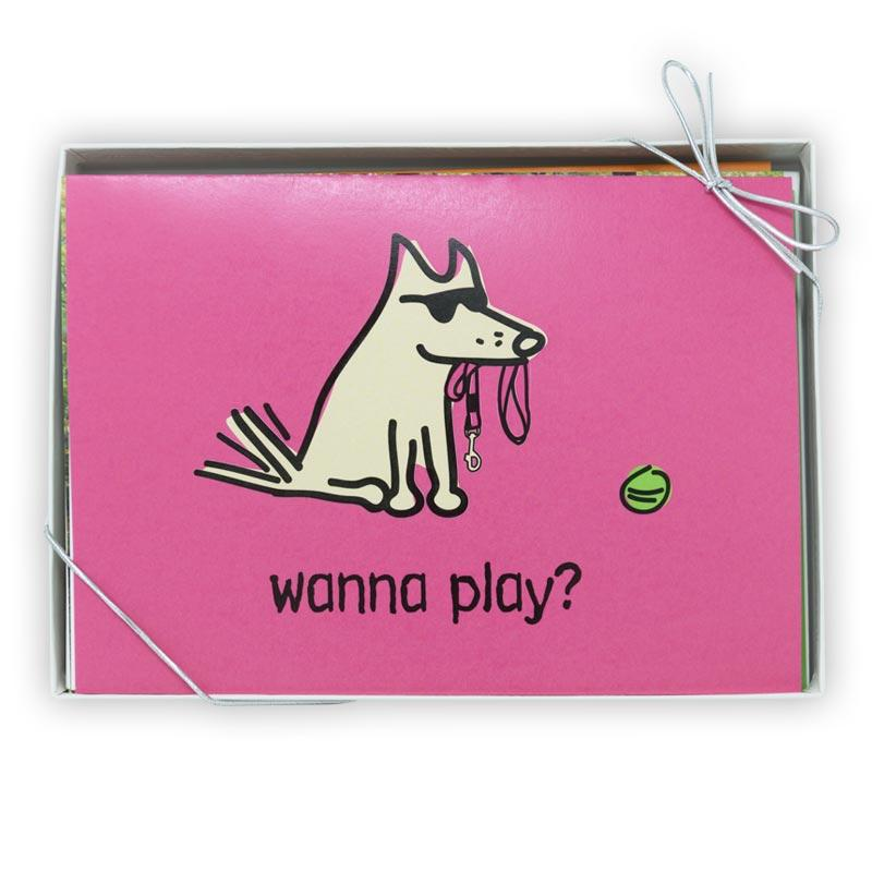 Wanna Play? - Greeting Cards