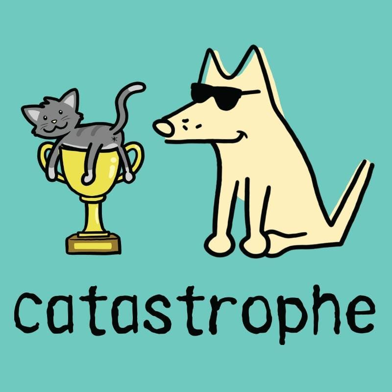 Catastrophe - Ladies Curvy V-Neck Tee