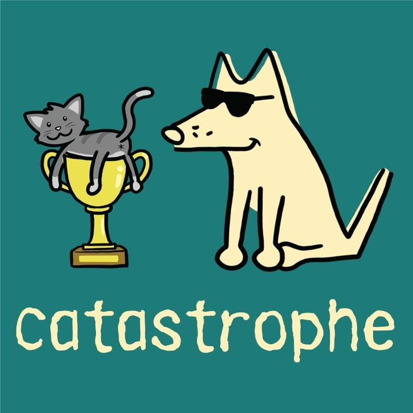 Catastrophe - Ladies T-Shirt V-Neck